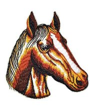 Custom and Unique Horse Face [ Horse Face] Embroidered Iron On/Sew patch... - €6,81 EUR