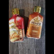 Hempz Apple Cinnamon Shortbread & Pumpkin Spice Vanilla Chai Moisturizer Duo