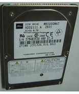 10% off 2+ Toshiba MK0200MAT HDD2111 271MB 2.5IN IDE Drive Tested Free U... - $69.00