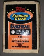 Topps Stadium Club NBA Basketball 1992-93 Series 1 Super Premium Picture... - $133.65