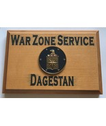 Central Intelligence Agency War Zone Service Dagestan Beveled Edge Wall ... - $49.49