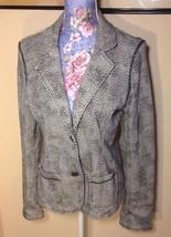 Aeropostale Blazer Jacket Button Front Size Large - $8.14