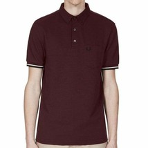 Fred Perry Mens Oxford Pique Polo Shirt Short Sleeved Top M2584-472 Aube... - $68.33