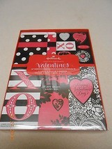 NEW HALLMARK VALENTINES GIVE A LITTLE LOVE CARDS STICKERS BAGS & ENVELOP... - $3.47