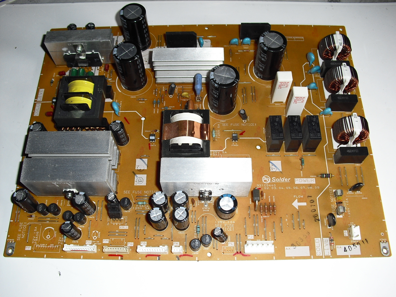 Primary image for 921c5440   power   board  for  mitsubishi  Lt40134