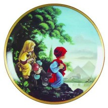 <><  collectore plate The Flight Into Egypt from Precious Moments Bible ... - $4.99
