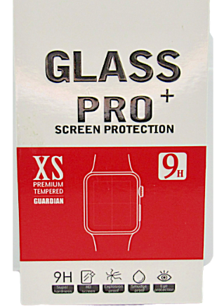 Primary image for 1-[2pk] Glass Pro Premium Tempered Apple Watch Screen Protector 38/42mm 1 2 3