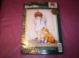 "Bucilla 42355 In Disgrace Counted Cross Stitch Kit Approx Finished Size 11 X 14"" - $29.99"
