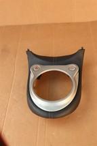 09-20 Nissan 370Z Z34 Center Console Auto Trans Shifter Bezel Trim Panel image 1