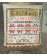 Li'l Abby - Faithfulness cross stitch chart Abby Rose Designs - $6.30