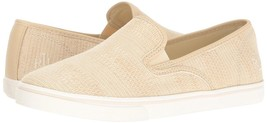 Ralph Lauren Women's Premium Janis Slip-On Athletic Fashion Sneakers Shoes Latte