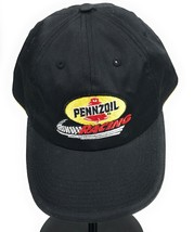 Pennzoil Racing Strapback Adjustable Cotton Black Baseball Cap Hat  - $12.54