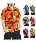 Men's Aloha Hawaiian Clothing Beach Button Down Shirt S M L XL 2XL 3XL 4XL - $22.95