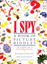 I Spy, A Book Of Picture Riddles, Cartwheel Press Hardcover, Walter Wick - $2.99