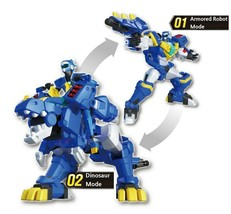 Miniforce Tyra Volt Transformation Action Figure Super Dinosaur Power Part 2 Toy image 2