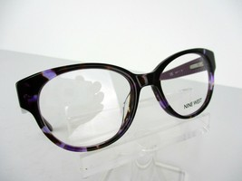 Nine West NW 5079 (518) Purple Tortoise  48 x 17 135 mm Eyeglass Frame - $51.96