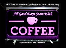 Personalized Coffee Cup LED Sign - Gift for Mom - Restaurant sign image 6