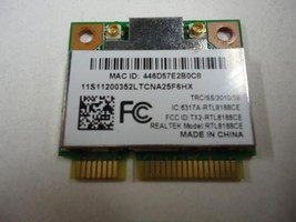 Realtek RTL8188CE PCI-E Wireless WIFI Wlan Card for Acer laptops NI.2360... - $9.64