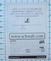 1998 Charles Schwab Mutual Fund - Print Ad - $13.56