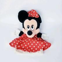 1993 Mattel Disney Plush MINNIE MOUSE HAND PUPPET 10IN VINTAGE - $7.92