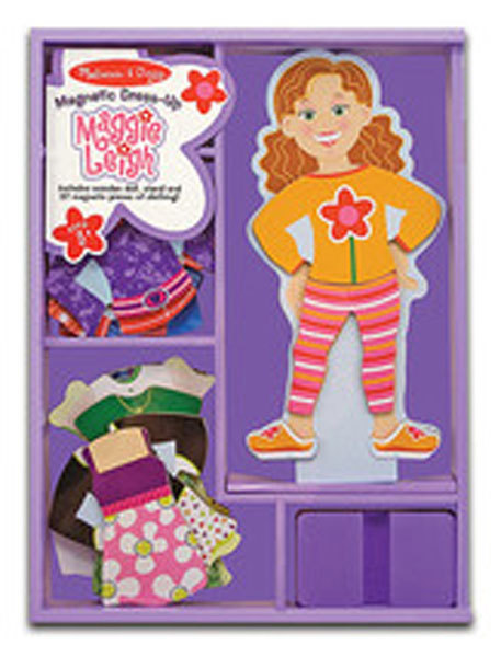 Maggie Leigh Magnetic Dress-Up Set by Melissa and Doug