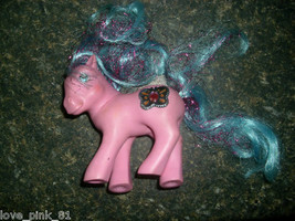 1987 Original My Little Pony Vintage Pink Princess Primrose Jewel Hasbro G1 Toy - $11.30