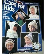 Caps for Kids 6 Knit & 6 Crochet Patterns  Patterns Leisure Arts Leaflet 723 - $2.91