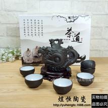 LanBeiJia Kung Fu Tea Set Ceramic Tea Pot Tea Ceremony - $40.95