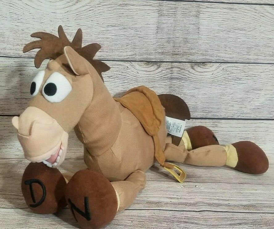 "Primary image for Disney Store Toy Story 3 Plush Bullseye Horse Stuffed Animal Stamped 18"" Brown"