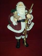 QVC Bronson Clothtique like Santa Bag of Goodies & Toys Walking Stick wi... - $59.99