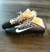 Nike VPR Flyweave Football Cleats Sz 13.5 Black White New Flyknit Men's - $64.35