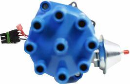 Pro Billet Series R2R Distributor GMC Chevy SBC BBC V8 327 350 396 454 Blue image 4
