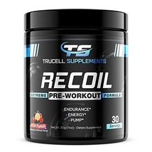 Trucell Supplements Recoil Pre-Workout - Energy & Endurance Supplement with - $52.55