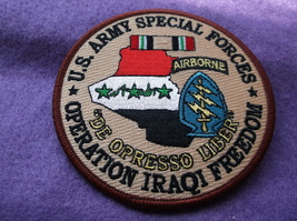 U.S. Army Special Forces Oif Patch - $6.75