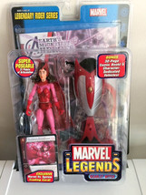 Marvel Legends Legendary Rider Series Scarlet Witch Trading Card ToyBiz ... - $13.45