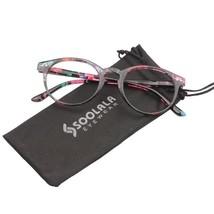 Reading Glasses Round Clear Lens Women Reader Circle Glasses Spring Retr... - $10.14