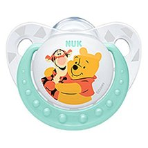 NUK Disney Winnie The Pooh Baby Pacifier 0-6 Months Silicone Blue Boy 82... - $9.11