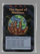 Goal: The Hand of Madness - Illuminati New World Order CCG - Steve Jacks... - $5.87
