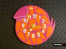 Rare Talulah The Toucan Bird Wall Mount Clock George Nelson Analog Zoo T... - $197.99