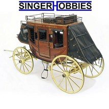 Artesania Latina Wooden Model Kit: Stage Coach 1848 1/10 LAT20340 HH - $169.99