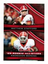 2009 Bowman Rookie all-Stars ASC2 Matthew Stafford Knowshon Moreno Footb... - $3.00
