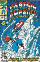 Captain America #384 ORIGINAL Vintage 1991 Marvel Comics Ice Worm - $12.86