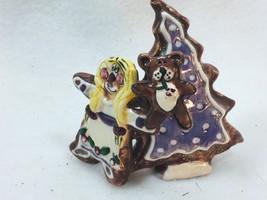 Heather Goldman Blue Sky Gingerbread Girl Christmas Tree 25653 Holiday Xmas - $23.16