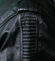 NEW Live Mechanics RFL Riders For Life Rockabilly Black Genuine Leather Jacket image 4