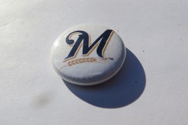 Milwaukee Brewers large M ,MLB baseball  collectible sports team fan pin... - $14.25