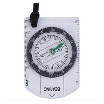 Compass Map Scale Camping Hiking Survival Compass.                            C8