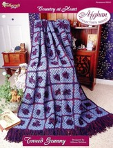 Marigold Squares Afghan TNS Country at Heart Crochet PATTERN//INSTRUCTIONS NEW
