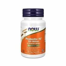 NOW Supplements, Probiotic-10, 100 Billion, with 10 Probiotic Strains,Dairy, ... - $32.88