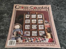 Cross County Stitching Magazine January February 1991 Country Kitchen - $2.99