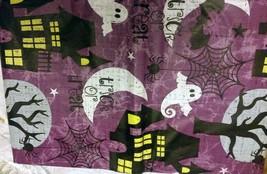 "Flannel Back Vinyl Tablecloth 52""x104"",(8-10 Ppl) Trick Or Treat, Halloween, Ap - $17.81"